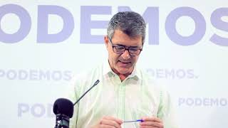 Miguel Quesada denuncia los recortes en educación pública en la Región de Murcia