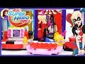 Lego DC Superhero Girls Harley Quinn Dorm Build Review Silly Play - Kids Toys
