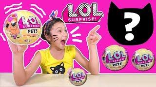ตุ๊กตา LOL ซีรี่ย์ 3 🐶 🐱 เปลี่ยนสีได้【 LOL Surprise Pets Series 3 】