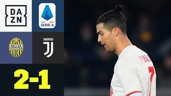 Trotz CR7-Serie, Verona dreht Spiel gegen Juve: Verona - Juventus 2:1 | Serie A | DAZN Highlights