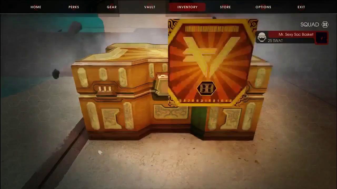 Killing Floor 2 Unboxing One Vault Crate Youtube