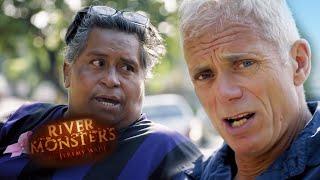 Jeremy Wade Meets Elephantiasis Victim - River Monsters