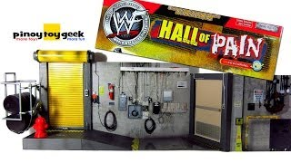 Wwf Hall Of Pain Playset Jakks Pacific Unboxing