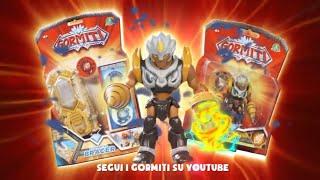 Giochi Preziosi Gormiti Personaggi E Bracciale Elementar Bracer Youtube
