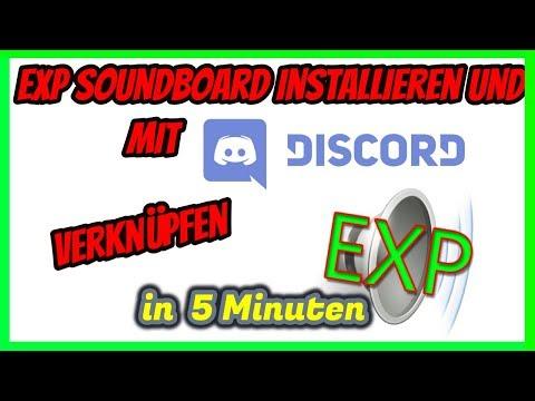 SOUNDBOARD INSTALLIEREN UND MIT DISCORD VERKNÜPFEN!!! | In 5 Minuten |  TobiTime