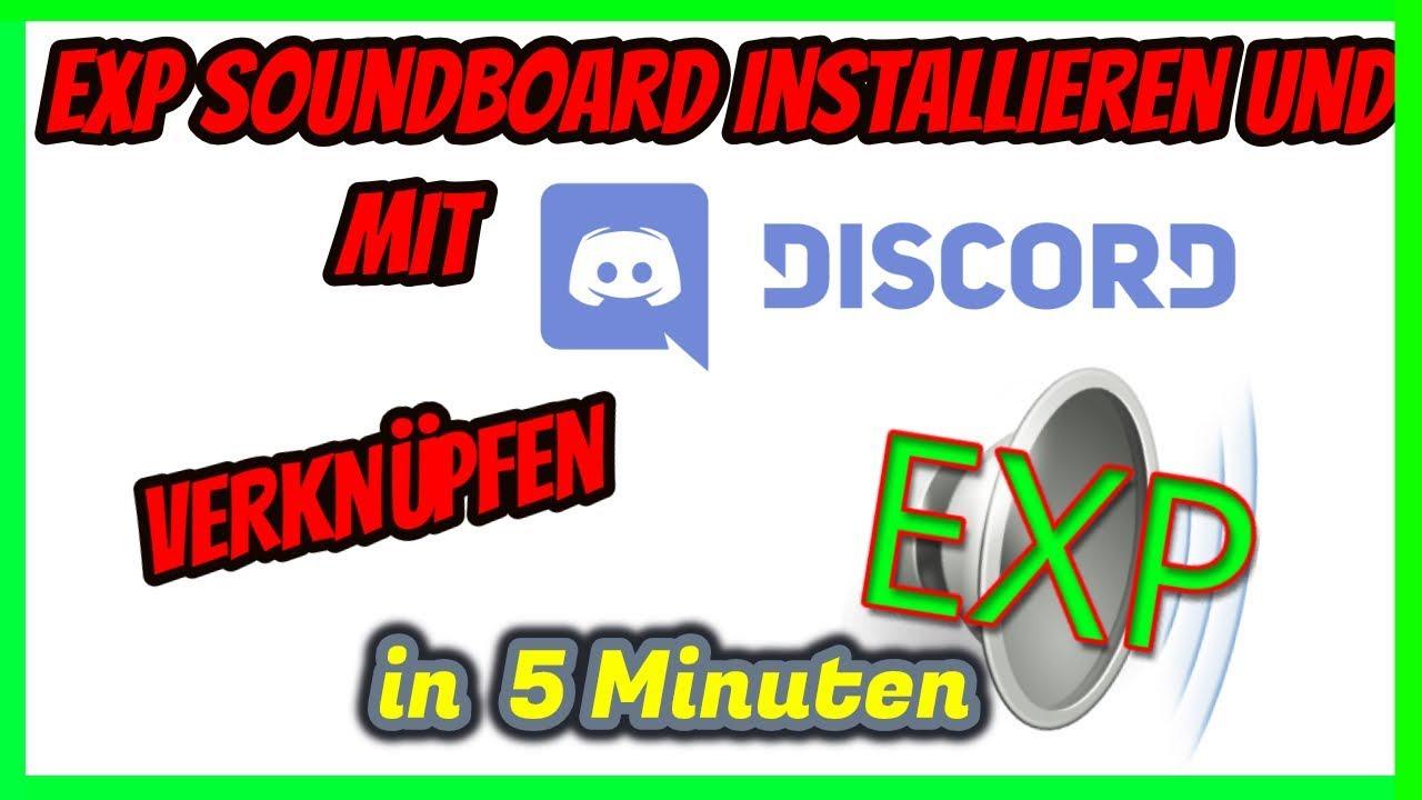SOUNDBOARD INSTALLIEREN UND MIT DISCORD VERKNÜPFEN!!!   In 5 Minuten    TobiTime
