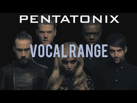 Pentatonix Vocal Range | D1 - B7 | HD