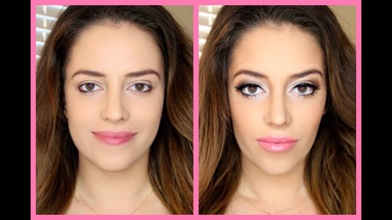 HOW TO SLIM YOUR FACE WITH CONTOURING IN 5 MINUTES - YouTube