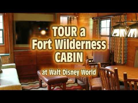 Tour a Renovated Cabin at Fort Wilderness