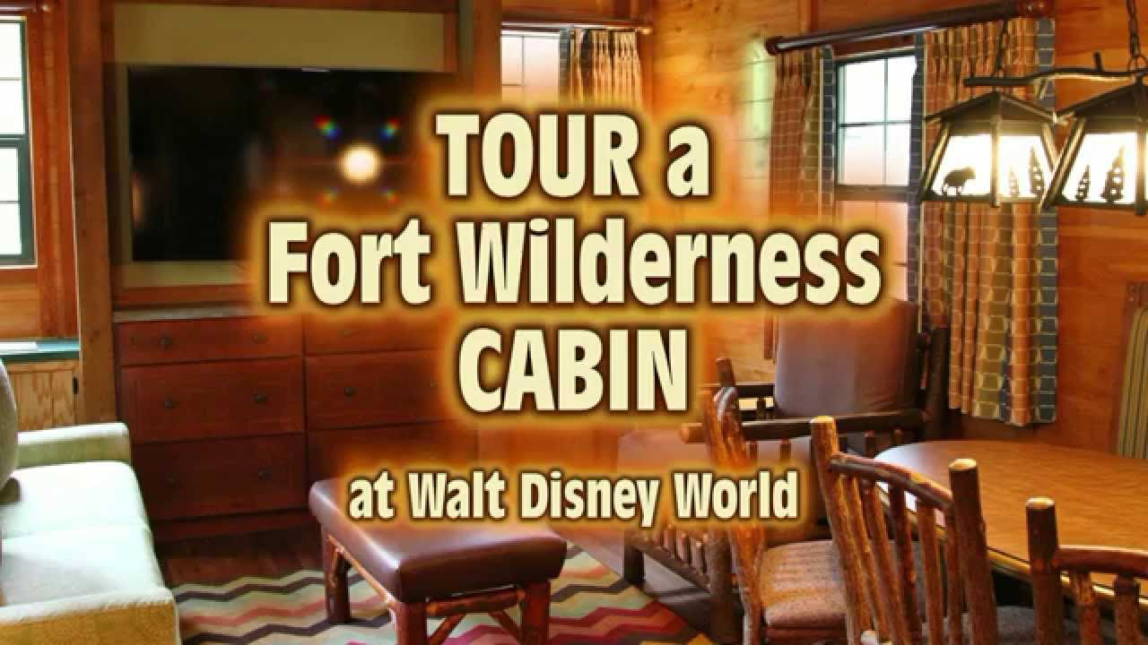Great Tour A Renovated Cabin At Fort Wilderness