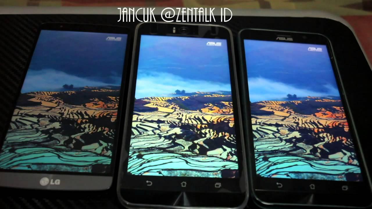 Asus Zenfone Selfie ZD551KL Display Vs Zenfone 2 ZE551ML