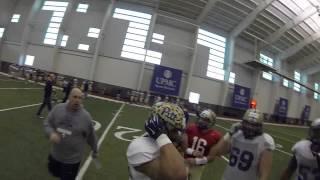 GoPro Helmet Cam on Pitt Wide Receiver Tyler Boyd | PittLiveWire