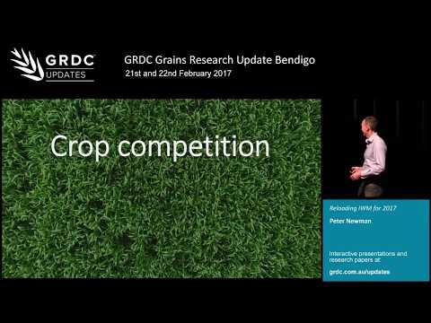 Integrated weed management in 2017 - P. Newman   2017 Grains Research Update   Bendigo