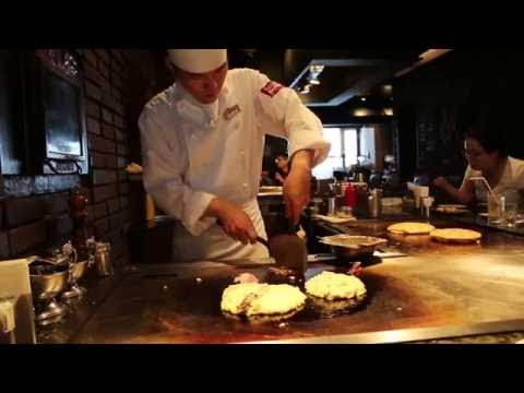 Okonomiyaki: real taste of Osaka (Kansai) - Japan