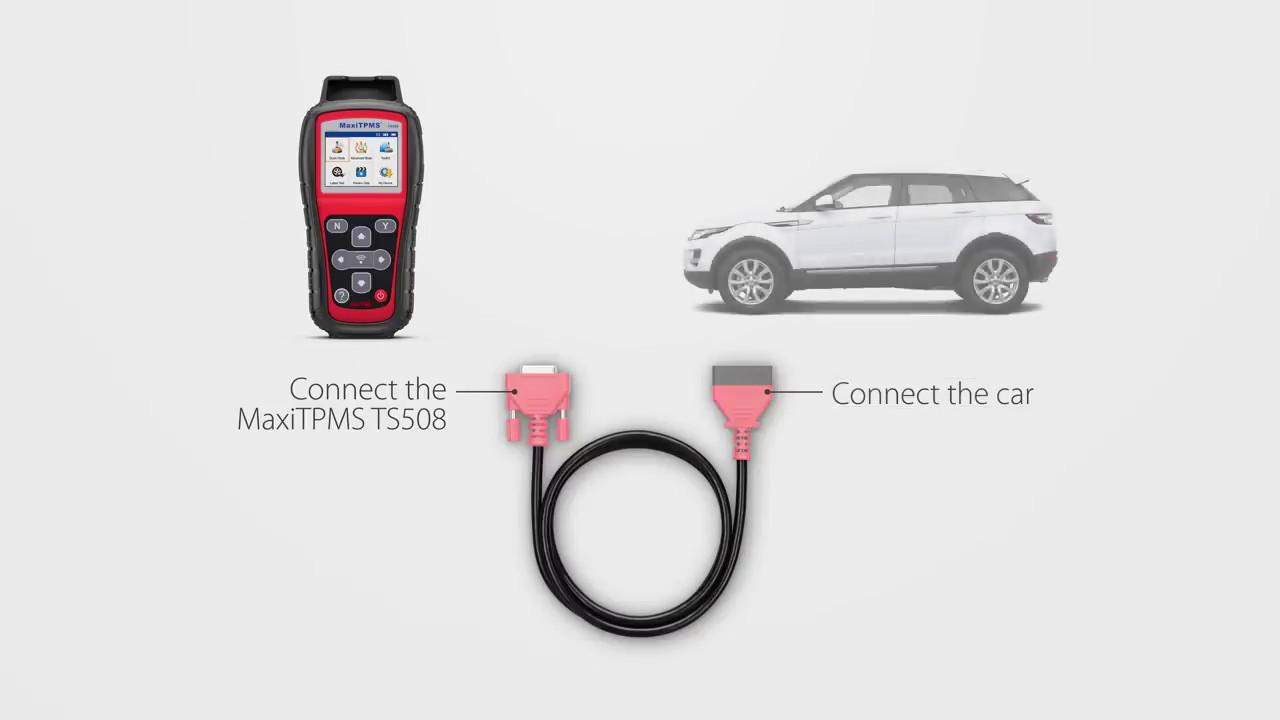 Autel MaxiTPMS TS508 – TPMS Relearn Function