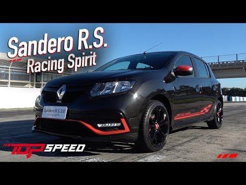 Avaliação Sandero RS Racing Spirit  | Canal Top Speed
