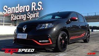 Avaliação Sandero RS Racing Spirit    Canal Top Speed
