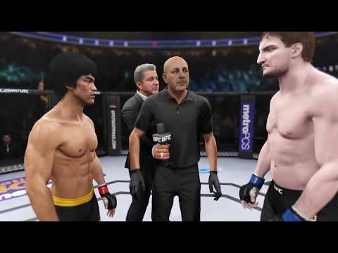 Bruce Lee vs. Stipe Miocic (EA sports UFC 2) - CPU vs. CPU