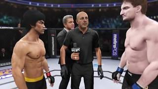 Download Bruce Lee vs. Stipe Miocic (EA sports UFC 2) - CPU vs. CPU Mp3 and Videos