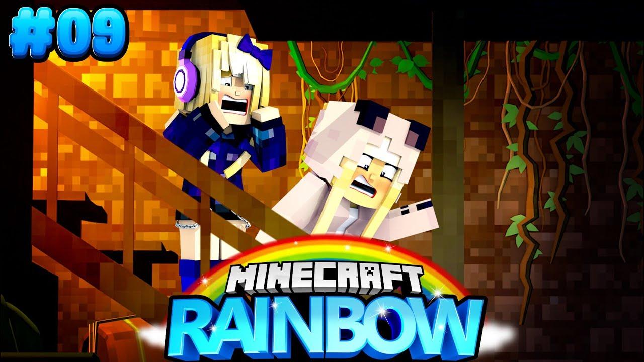 WIR FINDEN EINE GEHEIME FALLTÜR! ✿ Minecraft RAINBOW #07 [Deutsch/HD]