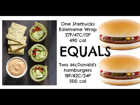 Equals & Alternatives Episode 46: Starbucks Edamame Lunch Wraps And Two McDonald's Hamburgers