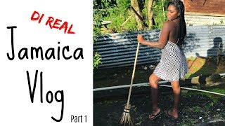 WELCOME HOME.. JAMAICA! REUNITING WITH MOM |  PART 1