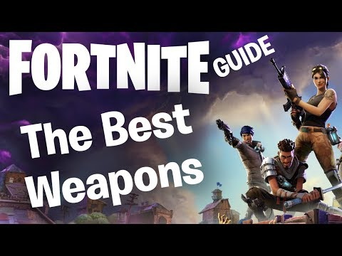 Fortnite Best Weapons Guide: Which Guns and Melee Schematics to Level Up