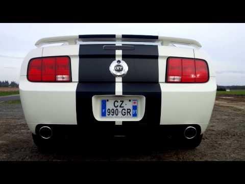 Mustang GT/CS 2007 Borla ATAK Axle-Back Exhaust