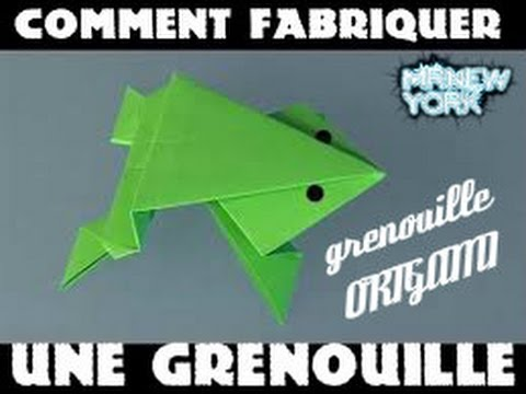 comment fabriquer une grenouille tuto 4 youtube. Black Bedroom Furniture Sets. Home Design Ideas