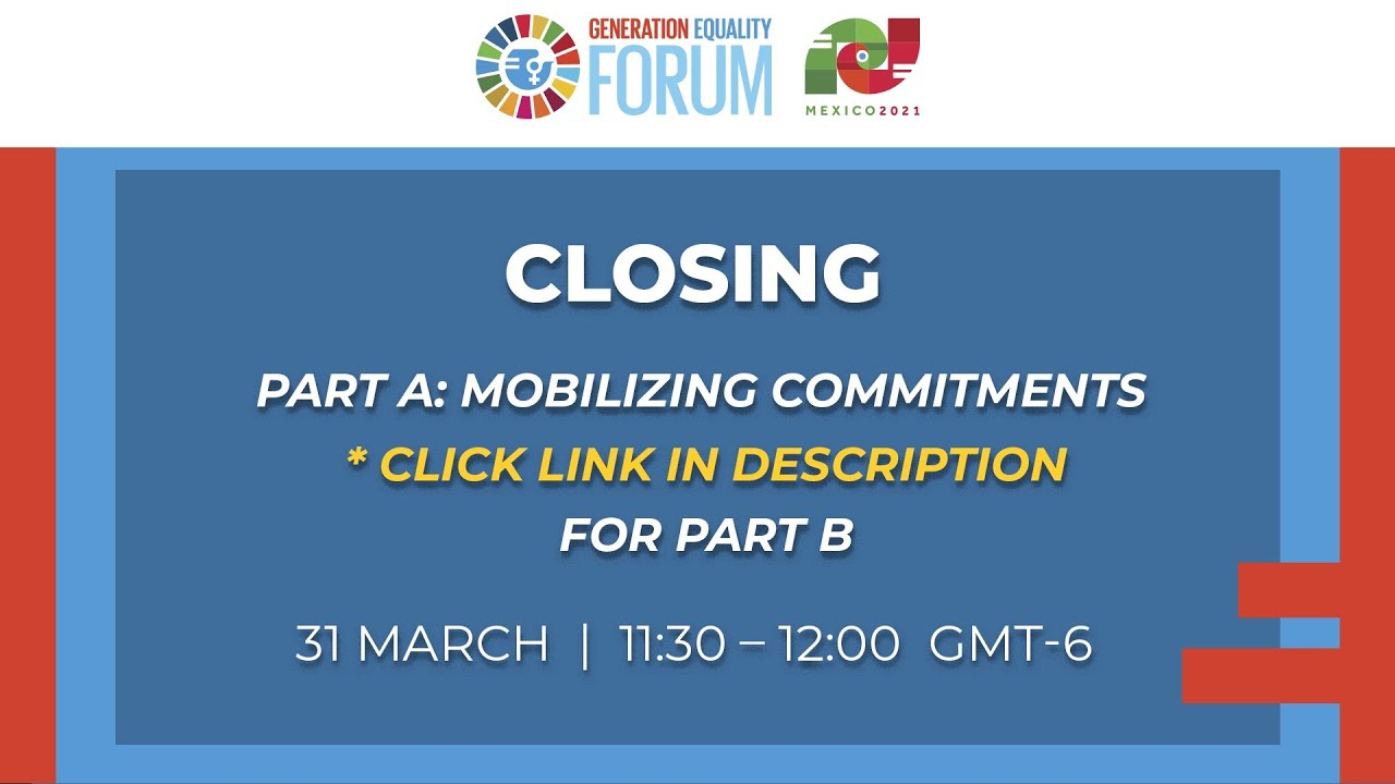 Closing Session - Mobilizing Commitments