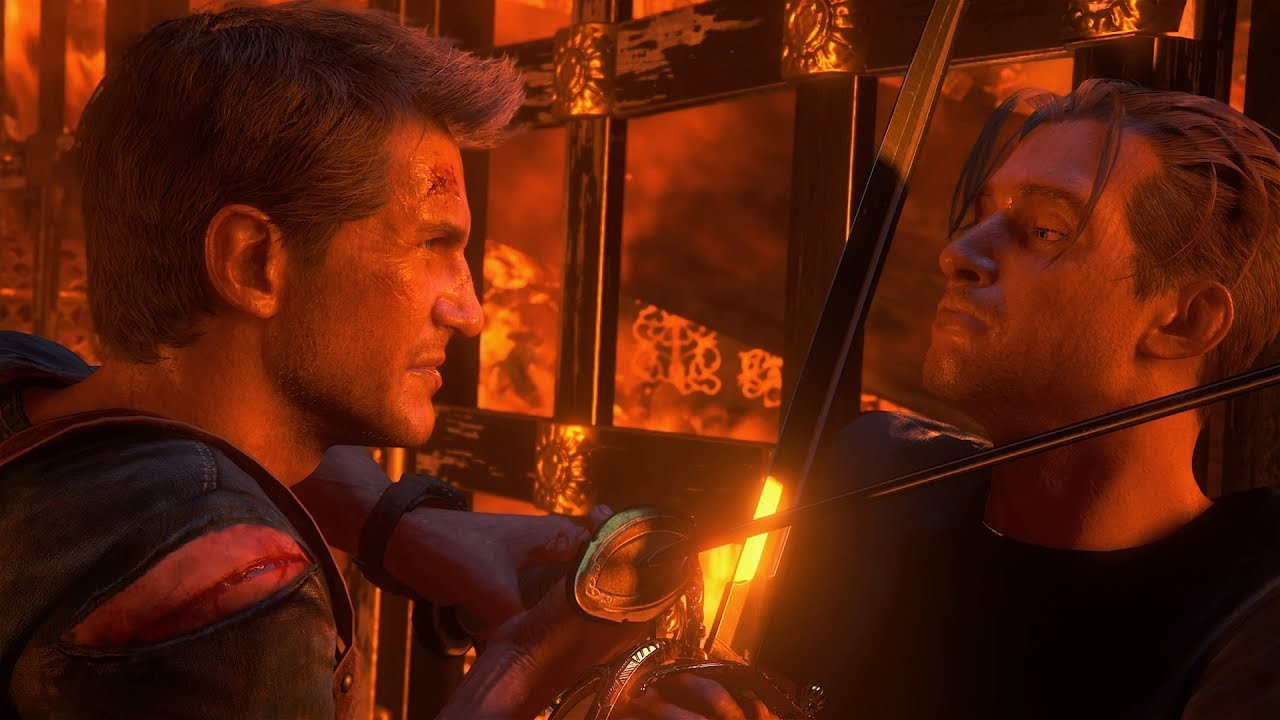 Uncharted 4 Rafe Boss Fight. Crushing Difficulty (Perfect Parry/No ...