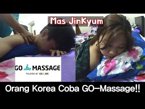 Orang Korea Coba GO-MASSAGE!! // 인도네시아에서 마사지 체험(영상망함)
