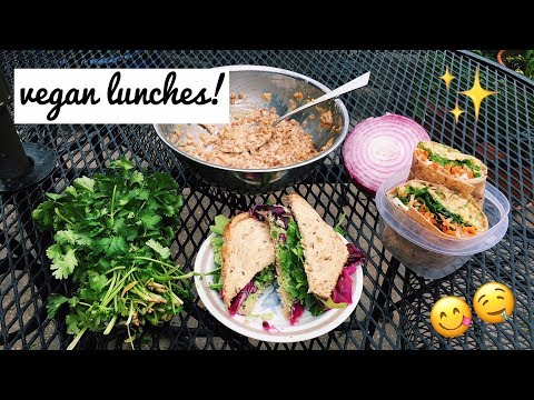 Five Meals in Five Minutes- Plant Based Sandwiches!