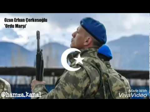 Ordu Marşı-Ozan Erhan Çerkesoğlu(Mavi Bere Bordo Bere Dağları Yıkar Geçer!)