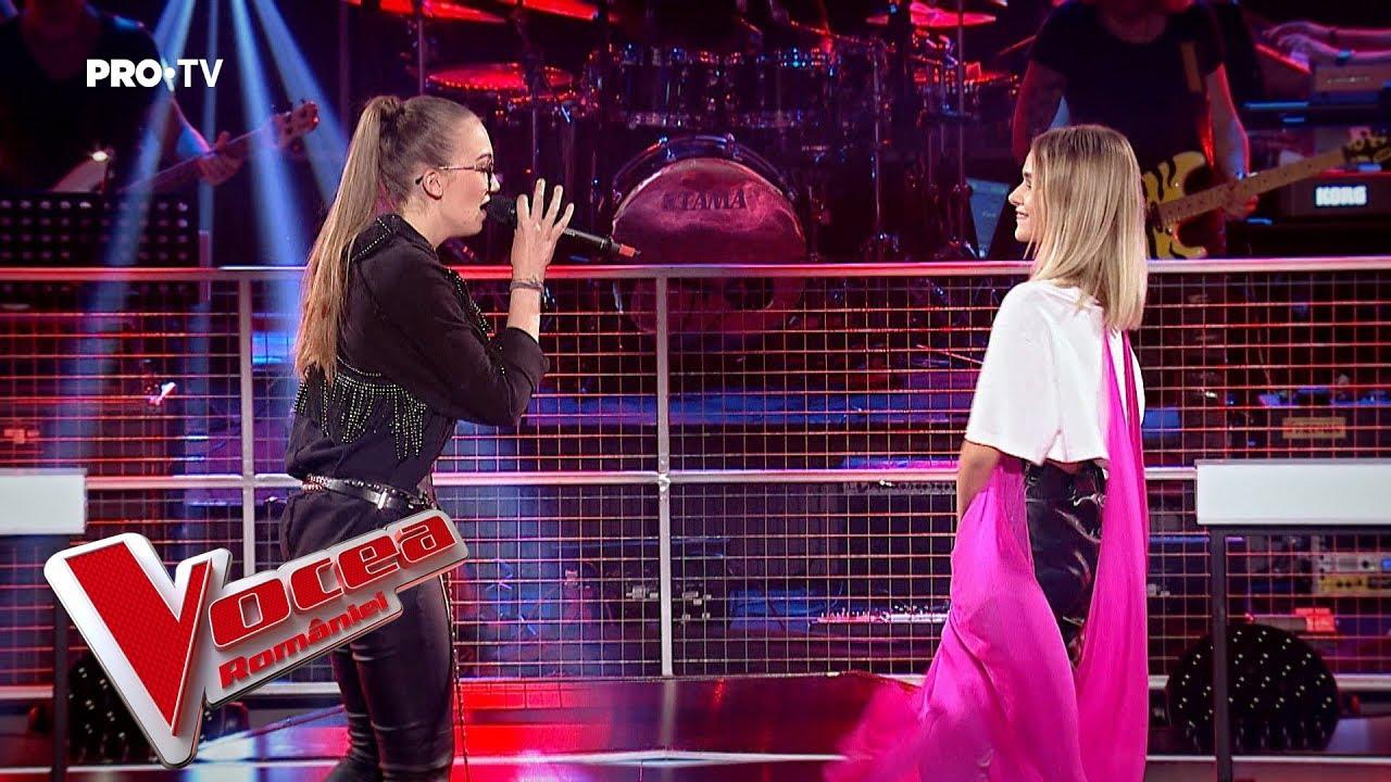 Maria vs Eva - Don´t let me down - Confruntarea 4 - Vocea Romaniei 2018