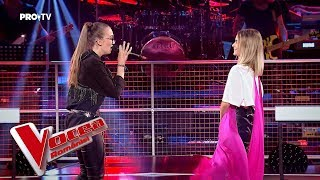 Maria vs Eva - Don't let me down | Confruntarea 4 | Vocea Romaniei 2018