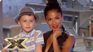 AUDITIONING IN FRONT OF HIS SON! | The X Factor UK Unforgettable Audition