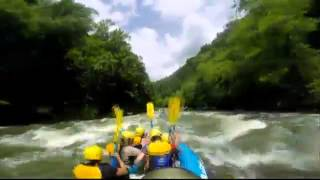 The Good Life: White Water Rafting