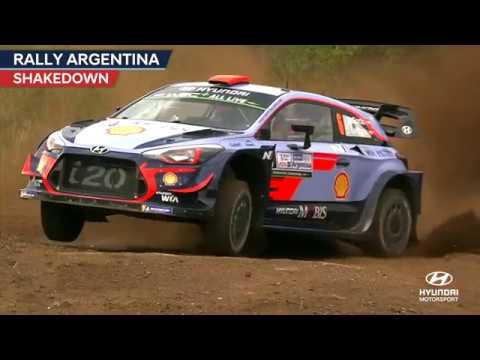 Rally Argentina Shakedown - Hyundai Motorsport 2018