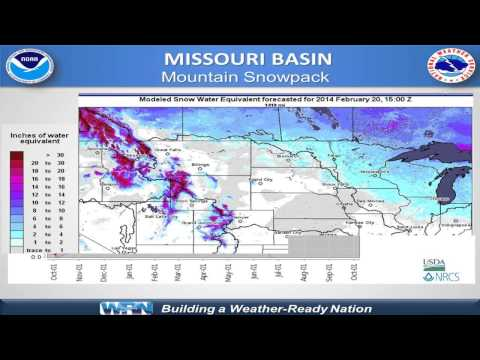 Spring Hydrologic Outlook for the Mississippi Basin (February Briefing)