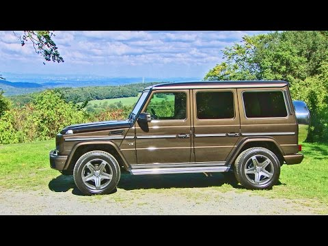 ► 2016 Mercedes G-Class G500 AMG Line - Footage