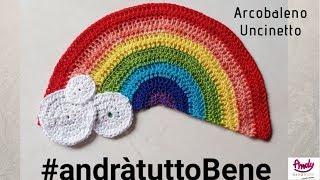 Arcobaleno uncinetto - rainbow crochet andratuttobenet