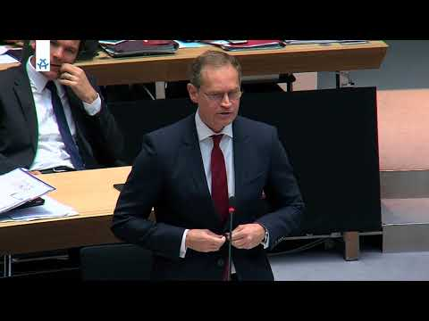 Fragestunde I Abgeordnetenhaus Berlin 19.10.2017