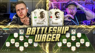 FIFA 20: FULL ICON Battleship Wager vs DerKeller 🔥🔥 (Chemie 11/10)