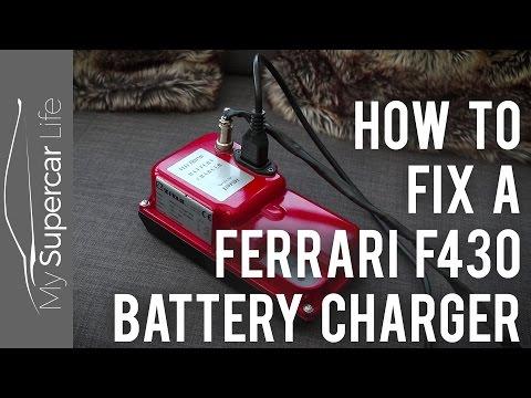 Ferrari F430 Battery Charger Fix