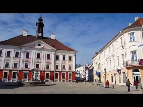 Tartu, secuencia de postales turísticas