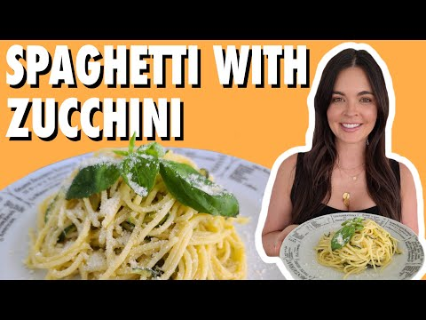 Date-Night Spaghetti with Zucchini | What Would Katie Eat?