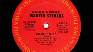 Martin Stevens - Midnight Music (Astrolabio Discotheque) 1979