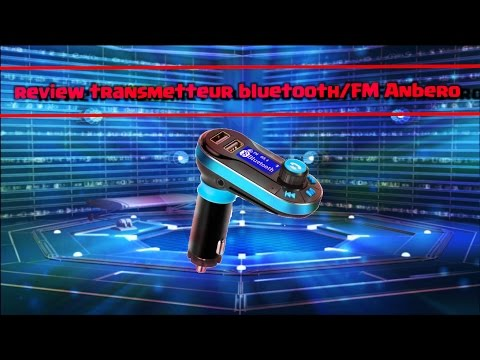 Review transmetteur-fm-bluetooth-kit-de-voitur e-lecteur-mp3 Anbero has less than 16 euros