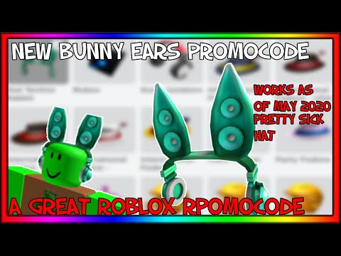 Roblox New Roblox Bunny Ears Promocode Working As Of May 2020